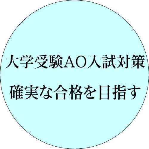 さいたま市南区個人指導大学受験AOサポート